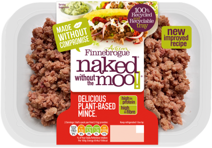 Naked Without the Moo Mince