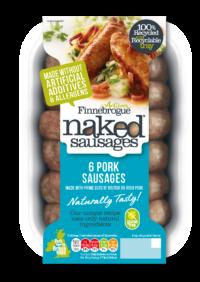 Naked Pork Sausages